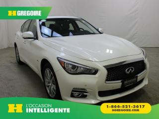 Used 2016 Infiniti Q50 2.0T AWD CUIR TOIT for sale in St-Léonard, QC