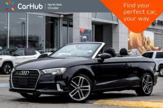 Used 2017 Audi A3 2.0T Progressiv|Pwr.Top|Heat.Frnt.Seats|Bluetooth|Backup_Cam|SiriusXM|18