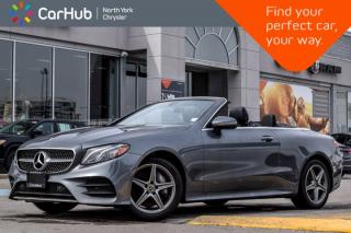 Used 2018 Mercedes-Benz E-Class E 400|AMGStylePkg|BurmesterSound|Nav for sale in Thornhill, ON