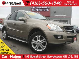 Used 2008 Mercedes-Benz ML-Class 320 CDI 4MATIC | DIESEL | NAVI | SUNROOF | for sale in Georgetown, ON