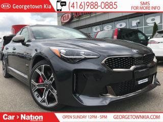 Used 2018 Kia Stinger GT LIMITED | TOP OF THE LINE | $324 BI- for sale in Georgetown, ON