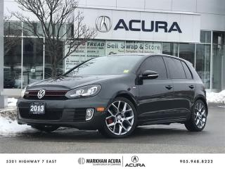 Used 2013 Volkswagen Golf GTI 5-Dr Wolfsburg Edition 2.0T 6sp Navi, Heated Seats, Dynaudio Sound for sale in Markham, ON