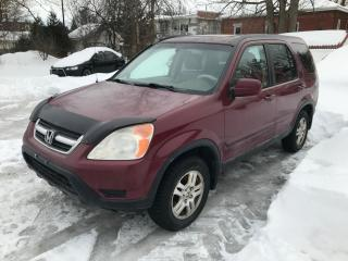 Used 2003 Honda CR-V EX-L for sale in Longueuil, QC