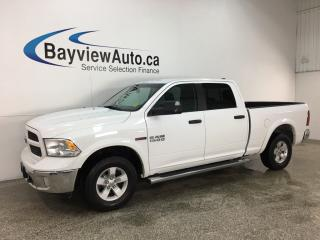 Used 2016 RAM 1500 SLT - 4X4! ECODIESEL! 8SPD AUTO! HITCH! U-CONNECT! ALLOYS! for sale in Belleville, ON