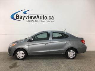 Used 2018 Mitsubishi Mirage G4 ES - 5SPD! TITANIUM GREY! REV CAM! A/C! PWR GROUP! for sale in Belleville, ON