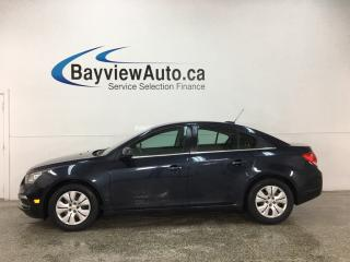 Used 2016 Chevrolet Cruze Limited 1LT - ONSTAR! REMOTE START! BLUETOOTH! REVERSE CAM! PWR GROUP! for sale in Belleville, ON