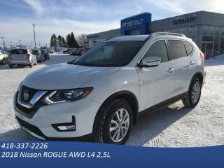 Used 2018 Nissan Rogue Sv 4x4 - Ac - Grp for sale in St-Raymond, QC