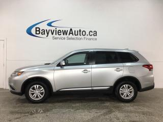 Used 2018 Mitsubishi Outlander ES - 4WD! REVERSE CAM! BLUETOOTH! HTD SEATS! ALLOYS! for sale in Belleville, ON