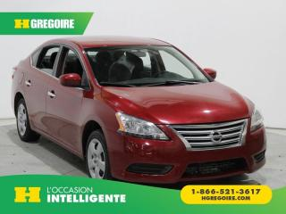 Used 2014 Nissan Sentra SV BLUETOOTH GR for sale in St-Léonard, QC
