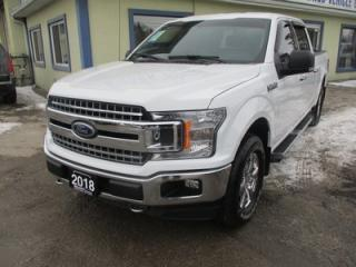 Used 2018 Ford F-150 LIKE NEW XLT MODEL 5 PASSENGER 5.0L - V8.. 4X4.. CREW.. SHORTY.. FACTORY WARRANTY.. BACK-UP CAMERA.. POWER PEDALS.. for sale in Bradford, ON
