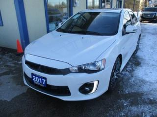 Used 2017 Mitsubishi Lancer LOADED GT MODEL 5 PASSENGER 2.4L - SOHC.. LEATHER.. HEATED SEATS.. POWER SUNROOF.. BACK-UP CAMERA.. BLUETOOTH SYSTEM.. for sale in Bradford, ON