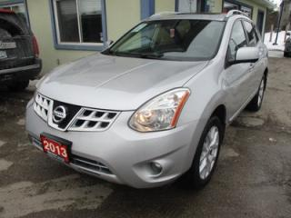 Used 2013 Nissan Rogue ALL-WHEEL DRIVE SL MODEL 5 PASSENGER 2.5L - DOHC.. LEATHER.. HEATED SEATS.. POWER SUNROOF.. BACK-UP CAMERA.. NAVIGATION SYSTEM.. for sale in Bradford, ON