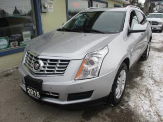 Used 2015 Cadillac SRX LOADED ALL-WHEEL DRIVE 5 PASSENGER 3.6L - V6.. LEATHER.. HEATED SEATS.. NAVIGATION.. PANORAMIC SUNROOF.. BACK-UP CAMERA.. BLUETOOTH SYSTEM.. for sale in Bradford, ON