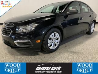 Used 2015 Chevrolet Cruze 2LS ONE OWNER, BLUETOOTH, A/C for sale in Calgary, AB