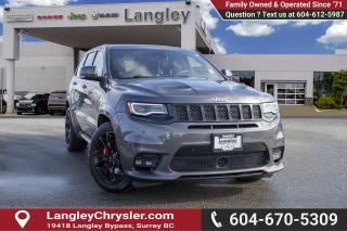 Used 2017 Jeep Grand Cherokee SRT - Leather Seats for sale in Surrey, BC