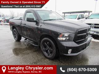Used 2016 RAM 1500 ST *BLACK EXPRESS GROUP* *BACKUP* for sale in Surrey, BC