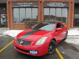 Used 2008 Nissan 2008 NISSAN ALITMA /$6495+HST+LIC / CLEAN CARFAX 2.5 S,2.5 S for sale in North York, ON