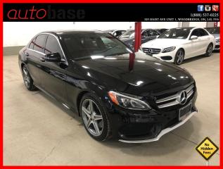 Used 2016 Mercedes-Benz C-Class C300 4MATIC PREMIUM PLUS BURMESTER SPORT RED INT! for sale in Vaughan, ON