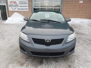 Used 2009 Toyota Corolla for sale in St-Eustache, QC