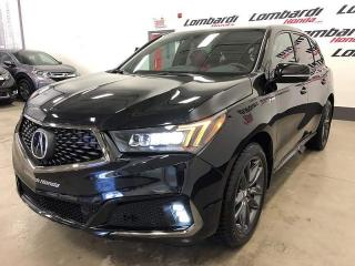 Used 2019 Acura MDX A-SPEC SH-AWD INTERIEUR ROUGE 7PASSAGERS for sale in Montréal, QC