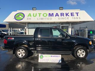 Used 2003 Ford F-150 LARIAT SuperCrew 4WD LOADED! for sale in Langley, BC