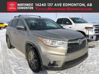 Used 2016 Toyota Highlander XLE for sale in Edmonton, AB