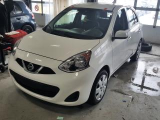 Used 2016 Nissan Micra SV for sale in St-Hubert, QC