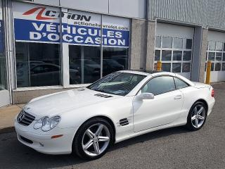 Used 2005 Mercedes-Benz SL-Class Cuir, Toit Vitré for sale in St-Hubert, QC