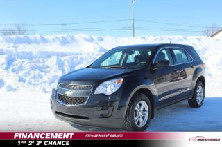 Used 2014 Chevrolet Equinox Traction intégrale, 4 portes LS for sale in St-Lin-Laurentides, QC