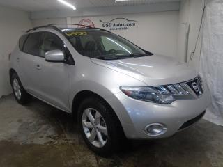 Used 2010 Nissan Murano SL for sale in Ancienne Lorette, QC