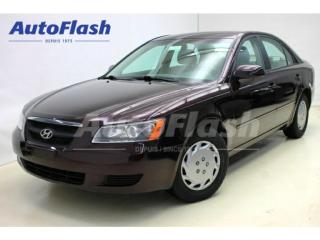 Used 2006 Hyundai Sonata GL A/C for sale in St-Hubert, QC