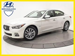 Used 2016 Infiniti Q50 Nav, Sièges Ch., Cam for sale in Brossard, QC