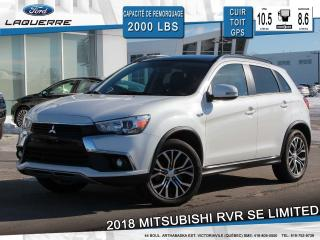 Used 2017 Mitsubishi RVR Se Ltd Edition 4x4 for sale in Victoriaville, QC