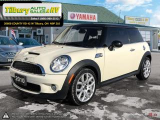 Used 2010 MINI Cooper S. *Turbocharged Engine. Heated Seats* for sale in Tilbury, ON