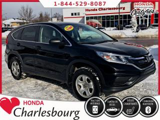 Used 2015 Honda CR-V LX 4WD **UN PROPRIÉTAIRE** for sale in Charlesbourg, QC