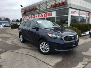 New 2019 Kia Sorento LX | Htd. Seats | Bluetooth for sale in Port Dover, ON