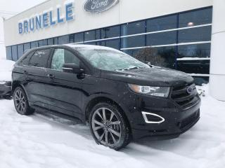 Used 2016 Ford Edge Sport 2,7L ecoboost Toit, gps for sale in St-Eustache, QC