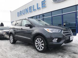 Used 2017 Ford Escape Titanium AWD Toit, GPS for sale in St-Eustache, QC