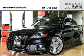 Used 2011 Audi S4 3.0 PREMIUM PLUS - SUNROOF|HEATED SEATS|TWO TONE for sale in North York, ON