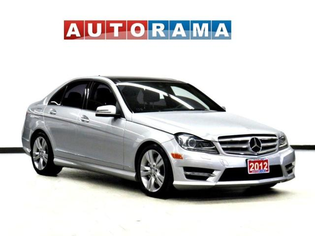2012 Mercedes-Benz C 300 4MATIC Navigation Leather Backup Cam Pano-Sunroof