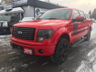 Used 2012 Ford F-150 FX4 SuperCrew 5.5-ft. Bed 4WD for sale in Bloomingdale, ON