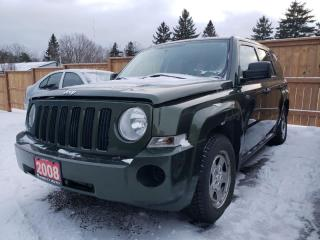 Used 2008 Jeep Patriot Sport 2WD for sale in Bloomingdale, ON