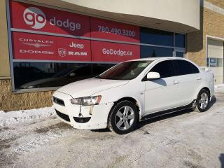 Used 2009 Mitsubishi Lancer SE GREAT ON FUEL! for sale in Edmonton, AB