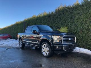 Used 2016 Ford F-150 Limited 4x4 SuperCrew Cab Styleside 145.0 in. WB for sale in Surrey, BC