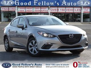 Used 2014 Mazda MAZDA3 GS MODEL, SKYACTIV, REARVIEW CAMERA, NAVIGATION for sale in Toronto, ON