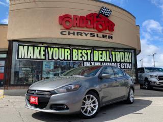 Used 2013 Dodge Dart RALLYE, POWER STEERING, POWER LOCKS, BLUETOOTH for sale in Toronto, ON