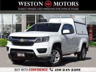 Used 2016 Chevrolet Colorado LT*BLUETOOTH*USB*AUX*TRUCK CAP!!* for sale in Toronto, ON