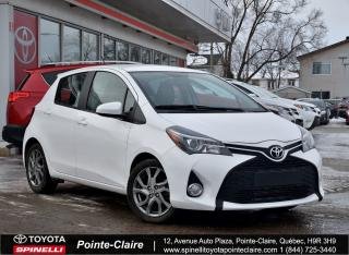 Used 2015 Toyota Yaris Se Gps for sale in Pointe-Claire, QC