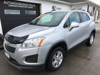Used 2014 Chevrolet Trax LT for sale in Kingston, ON
