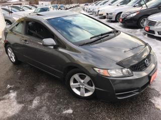 Used 2010 Honda Civic LX/ AUTO/ SUNROOF/ ALLOYS/ POWER GROUP! for sale in Scarborough, ON